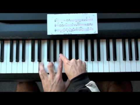 Summertime Jazz Piano Lesson - Stride and Blues Scale