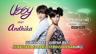 Ussy - Kupilih Hatimu (feat. Andhika) (Official Video Lyrics) #lirik