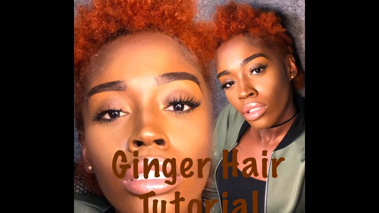 DIY Ginger Hair Color YOURSIZEDOLL YouTube