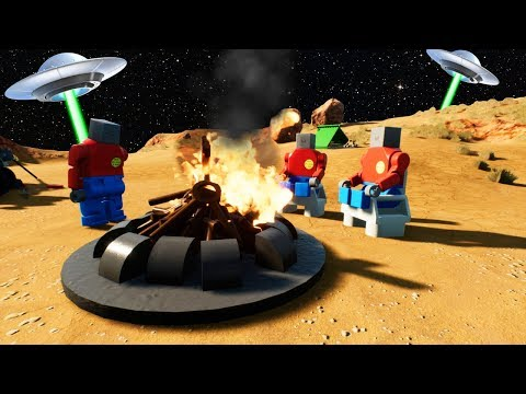 LEGO ALIENS FOUND ON CAMPING TRIP IN AREA 51?! (Brick Rigs Gameplay Roleplay) Lego Aliens! |