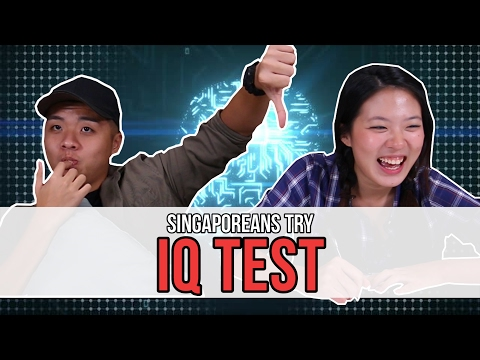 Singaporeans Try: IQ Test