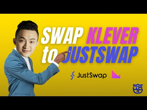 How to Add Liquidity and Swap #Klever to #JustSwap | Tagalog Tutorial