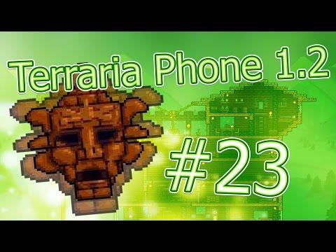 видео: lp. hm. terraria phone #23 (Поражение Голема и последняя серия...)