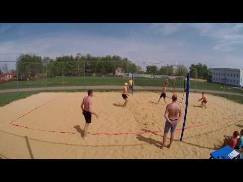 Пляжный Волейбол - игра за 1 место -  Первенство города Орла 2018/05/05