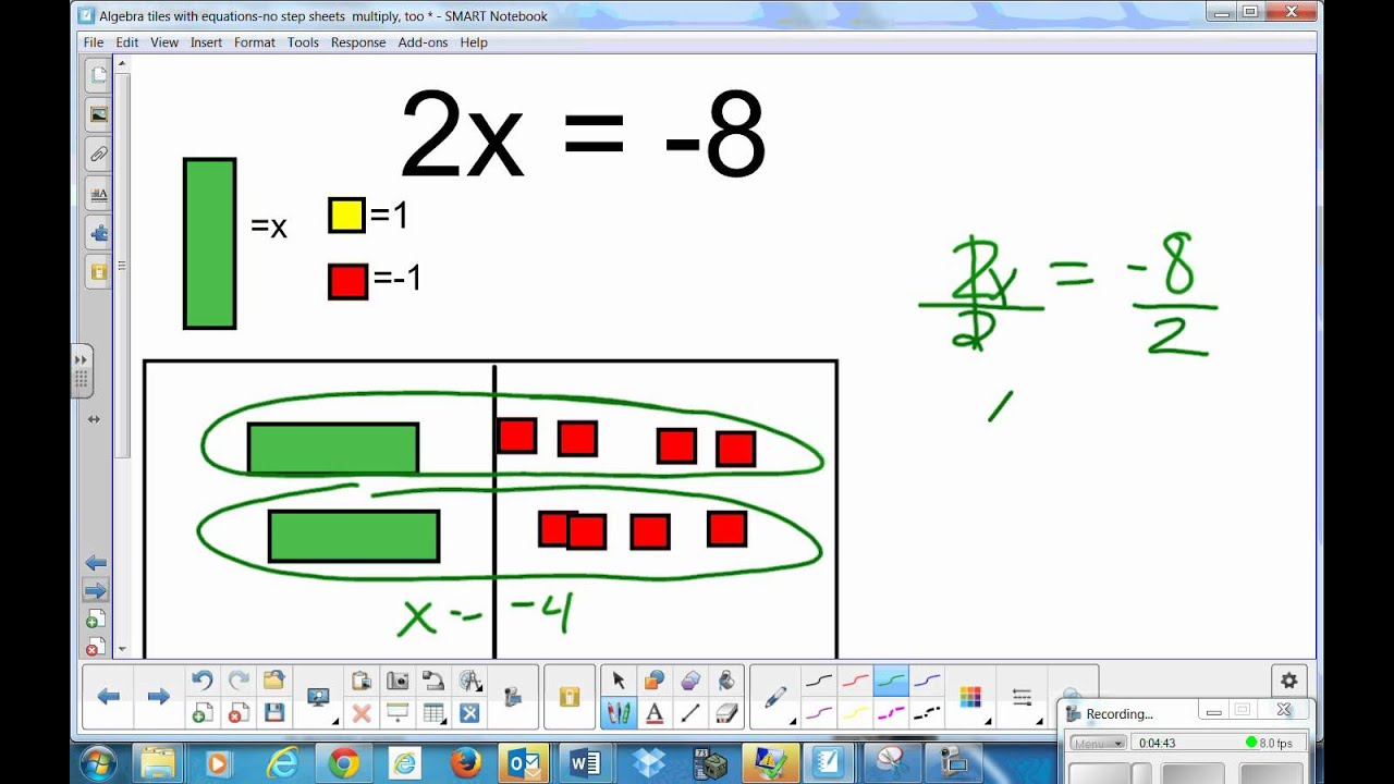 worksheet One Step Equation solving one step equations with multiplication and division youtube division