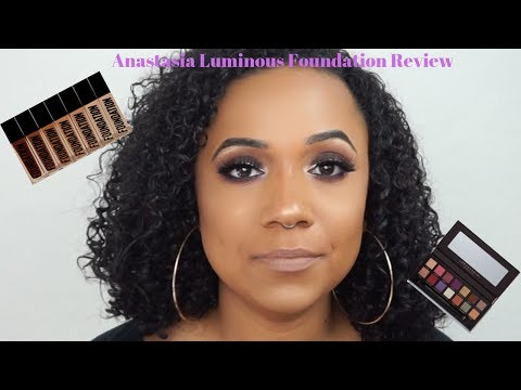 Anastasia Beverly Hills Luminous Foundation Review|Jackie Aina Palette Review|AmarisBrianna2019 thumbnail