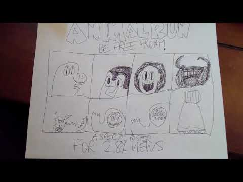 Animal Run - Special Poster for 281 Views!!! | The Heroes Productions