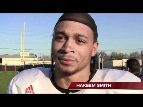 Hakeem Smith post-practice interview