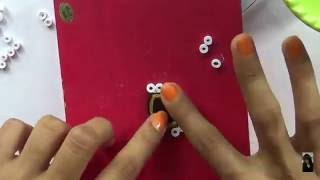 Quilling Paper Jewellery (New Model) Ear Ring..........Tutorial