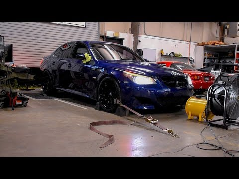 Bmw E60 M5 V10 Dyno How Much Horsepower After 100k Miles
