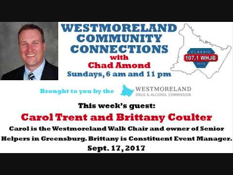 Westmoreland Community Connections - Sept. 17, 2017