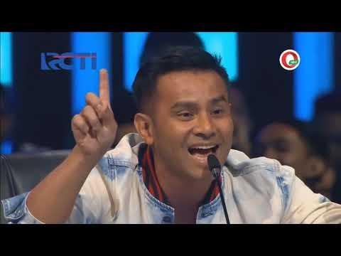 Merdunya Suara Judika Membawakan Lagu Stasiun Balapan   Live Indonesian Idol 201