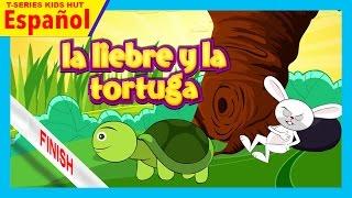 la liebre y la tortuga - historias español    cuentos cortos