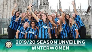 INTER WOMEN'S 2019/20 SEASON UNVEILING @ RINASCENTE MILANO 🖤💙[SUB ENG]