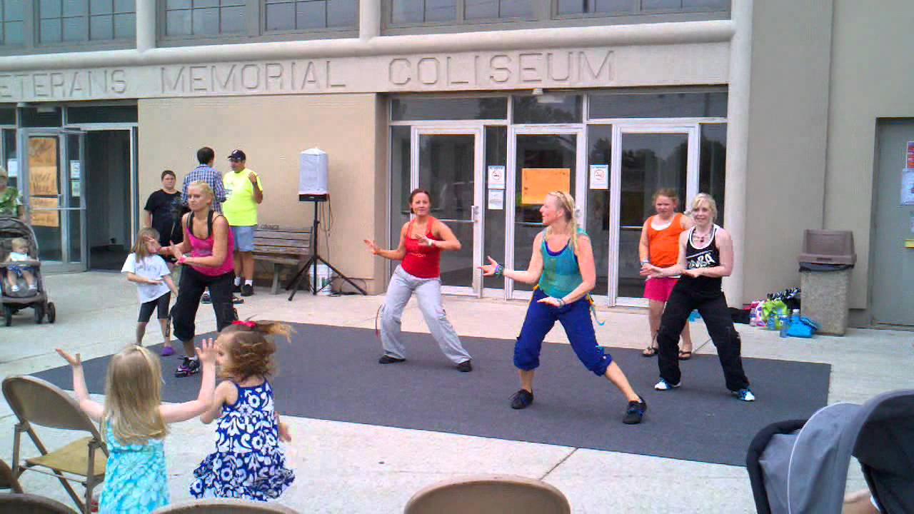 Zumba Ven A Bailar On The Floor Jlo Marion Goba 6 19