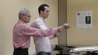 Master Class of conducting / Professor Vladimir Ponkin Part II (English subtitles)