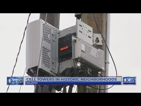 Cell towers pondered in historic Raleigh neighborhoods