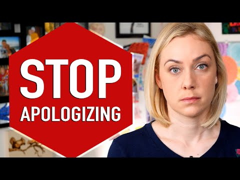 Stop Apologizing. SAY THIS INSTEAD! [CC English & Español]