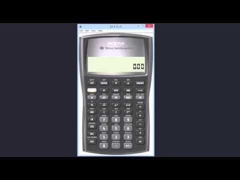 TI BA II Plus Calculator Purification Ritual