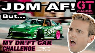 video thumbnail of Roy Cardoso's JDM AF Nissan 240SX - My Drift Car Challenge Eps.4 Presented by Nitto