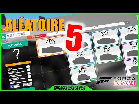 PRENDRE UNE VOITURE ALÉATOIRE 5 - FORZA HORIZON 4 thumbnail