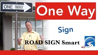 One Way Sign | Pass a Driving Test