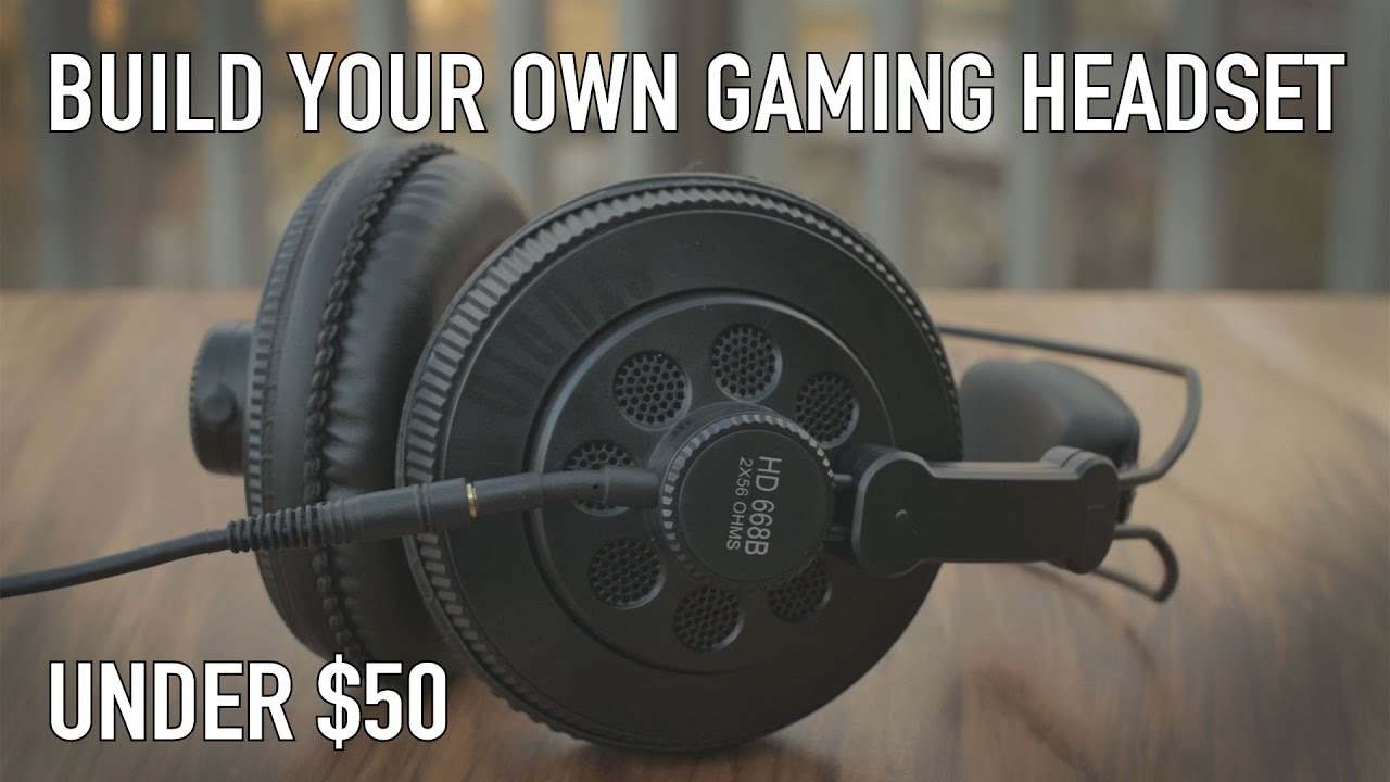 Gaming Headsets Suck - Make Your Own For 50 Or Less - Youtube-9949