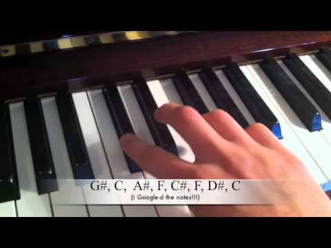 Warner Brother's Theme Piano Tutorial