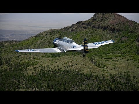 Warbird Flight at Santa Fe Top Gun Adventures in the 1945 SNJ-6