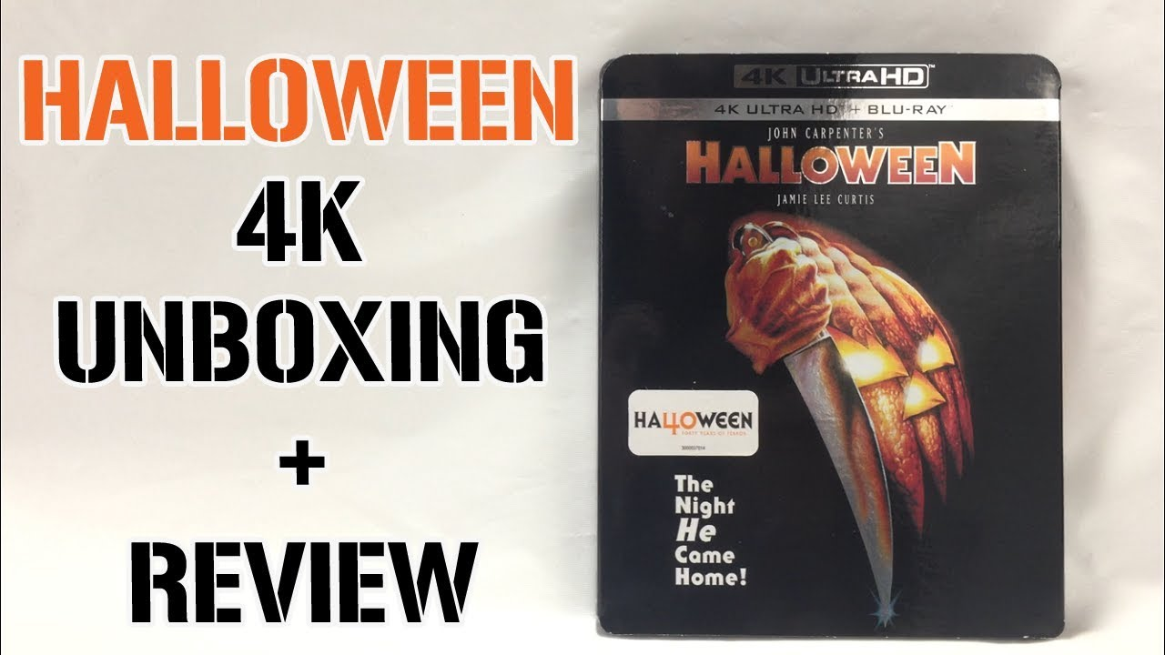 Download HALLOWEEN (1978) 4K Blu-ray Unboxing + Review