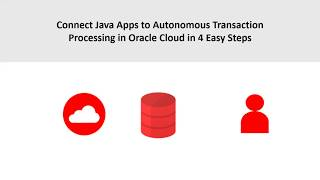 Connect Java Apps to Autonomous Transaction Processing video thumbnail