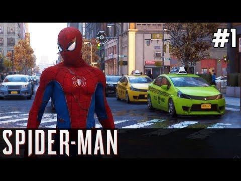 Spiderman PS4 Gameplay PL [#1] SUPER się Gra!