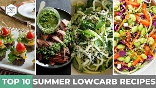 Top 10 Summer Lowcarb Recipes