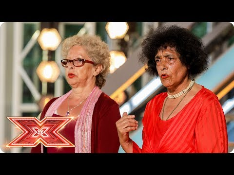Nicole and Louis join Just Us but can they get 4 yeses? | Auditions Week 4 | The X Factor 2017