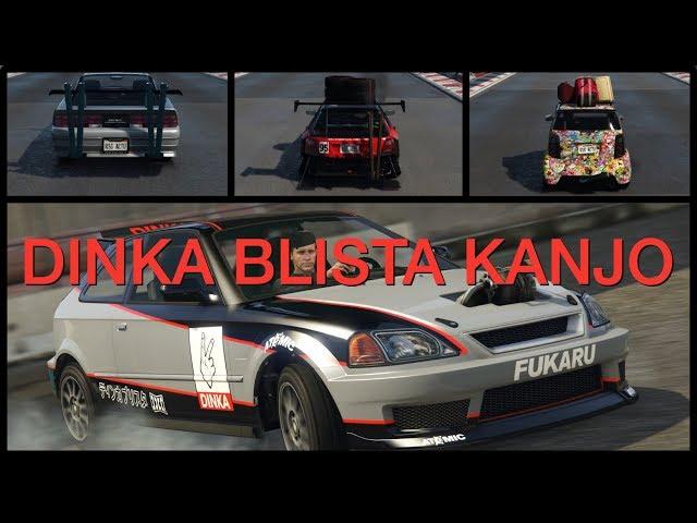 Dinka Blista Kanjo - Customisation, performance et gameplay  - GTA Online