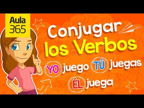 ¿Cómo se Conjugan los Verbos? | Videos Educativos para Niños