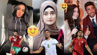زوجات جميع لاعبين المنتخب الوطني الجزائري 2020 ●أحد لاعبين زوجته كبيرة عليه