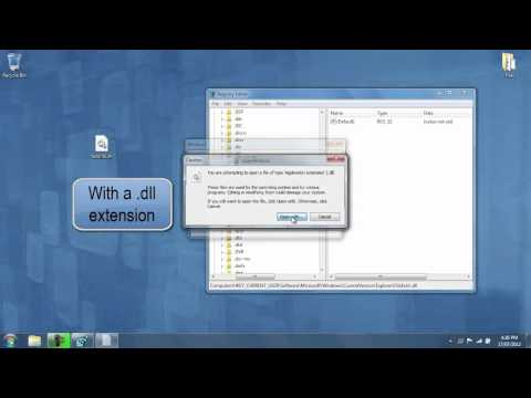 How To Restore Default Dll File Format And Icons Without Programs