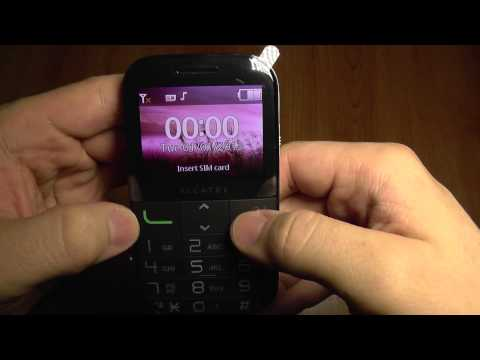 Alcatel 2000x Senior SOS Mobile Phone