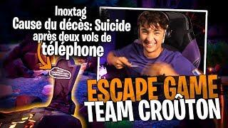 La Team Croûton amoureux de cette Escape Halloween sur Fortnite Créatif ! #5