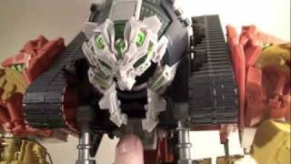 Transformers 2 ROTF Movie Supreme Devastator Constructicons Review