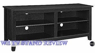 WE Furniture 58-Inch Black Wood TV Console | Review