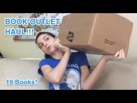 My First Official Book Outlet Unboxing/Book Haul for May