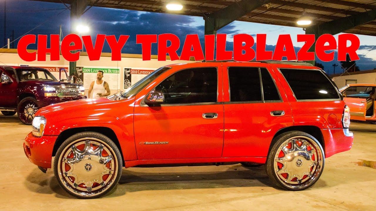 Clean Chevy Trailblazer On Dub Wheels In Hd Must See Youtube