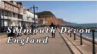 Sidmouth Devon England   Virtual Walk in Sidmouth