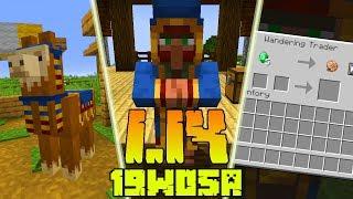 Minecraft 1.14: [Snapshot 19w05a] Co Nowego? Nowy Mob Podróżnik! Ravager! Nowe Lamy!