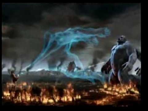 God of War 2 (ALL Titans VS Zeus)