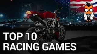 Top 10 Racing Games for Smartphones and Tablets