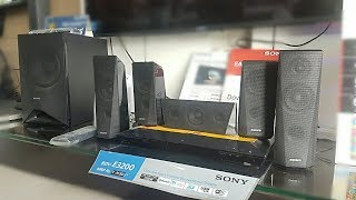 Sony BDV-E3200 3D BLUE REY 5.1 HOME THEATRE FULL REVIEW/SOUND TEST #IN HINDI
