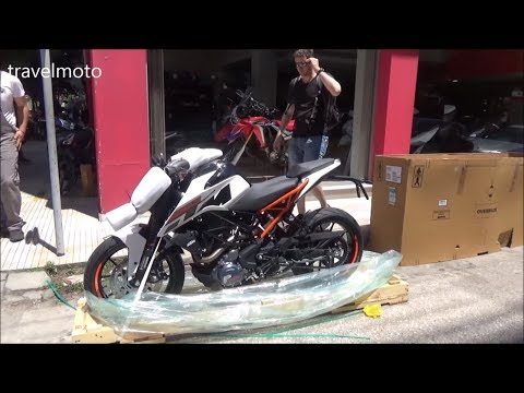 unboxing KTM DUKE 250   Brand new 2019
